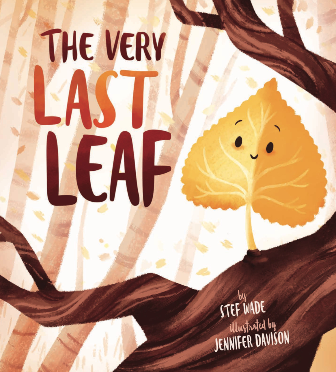 THE VERY LAST LEAF cover image